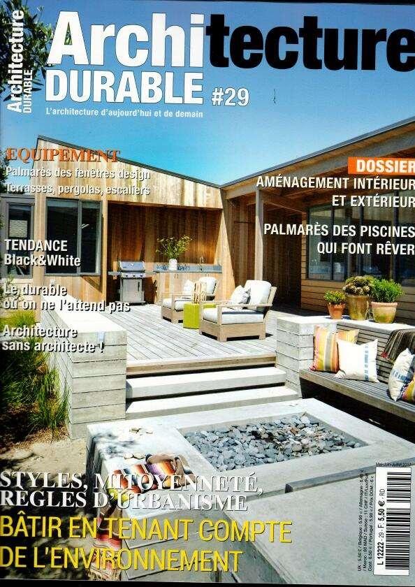 Architecture Durable N° 29  Abonnement Architecture