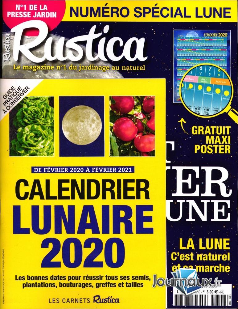 Calendrier Lunaire Septembre 2019 Rustica : calendrier, lunaire, septembre, rustica, Rustica, Abonnement, Magazine, Toutabo.com