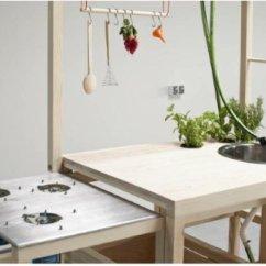 Portable Kitchen Small Island 国外获奖的便携式厨房 怎么看都比不上小餐车 便携式厨房