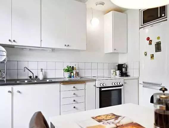 kitchen art decor aide food processor 6平米小厨房玩转设计新花样给她一个离不开厨房的新理由 厨房艺术装饰