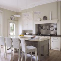 Kitchen Showrooms Ideas With Island 厨房里的那些设计 客厅改造而成的厨房 厨房陈列室