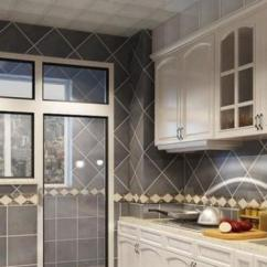 Pictures For Kitchen Wall Home Depot Faucets Moen 厨房墙面用什么材料好 2018厨房墙面砖装修效果图 厨房墙的图片