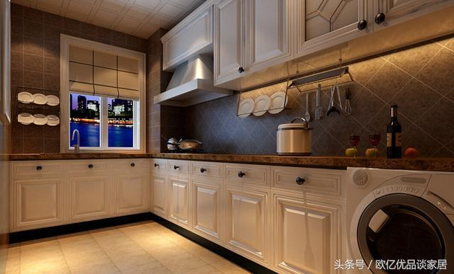 wall paper borders for kitchens how much does it cost to reface kitchen cabinets 厨房怎么装修 装出自己的style 让你享受私人餐厅的体验感 厨房的墙纸边框