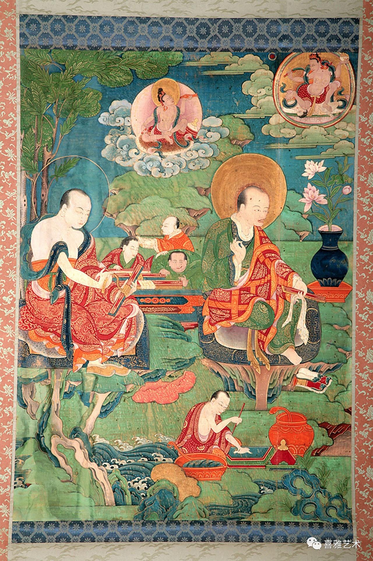 返景入深林 — 西藏藝術中的羅漢畫