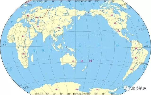 巧記 | 5句口訣就能記住四大洋相對位置,這次我信了!