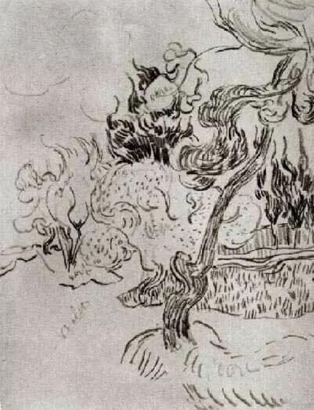 誰說梵高畫畫不打草稿,珍藏114幅梵高素描作品-雪花新聞