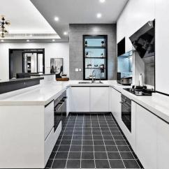 Grey Kitchen Tile Store Com 厨房用灰色墙砖好不好 看完这篇你就知道了 灰色厨房瓷砖