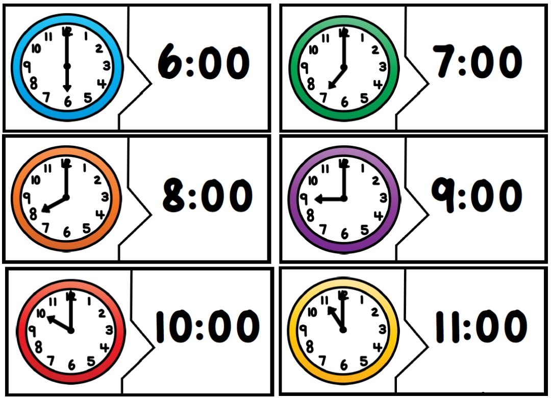 Telling Time The