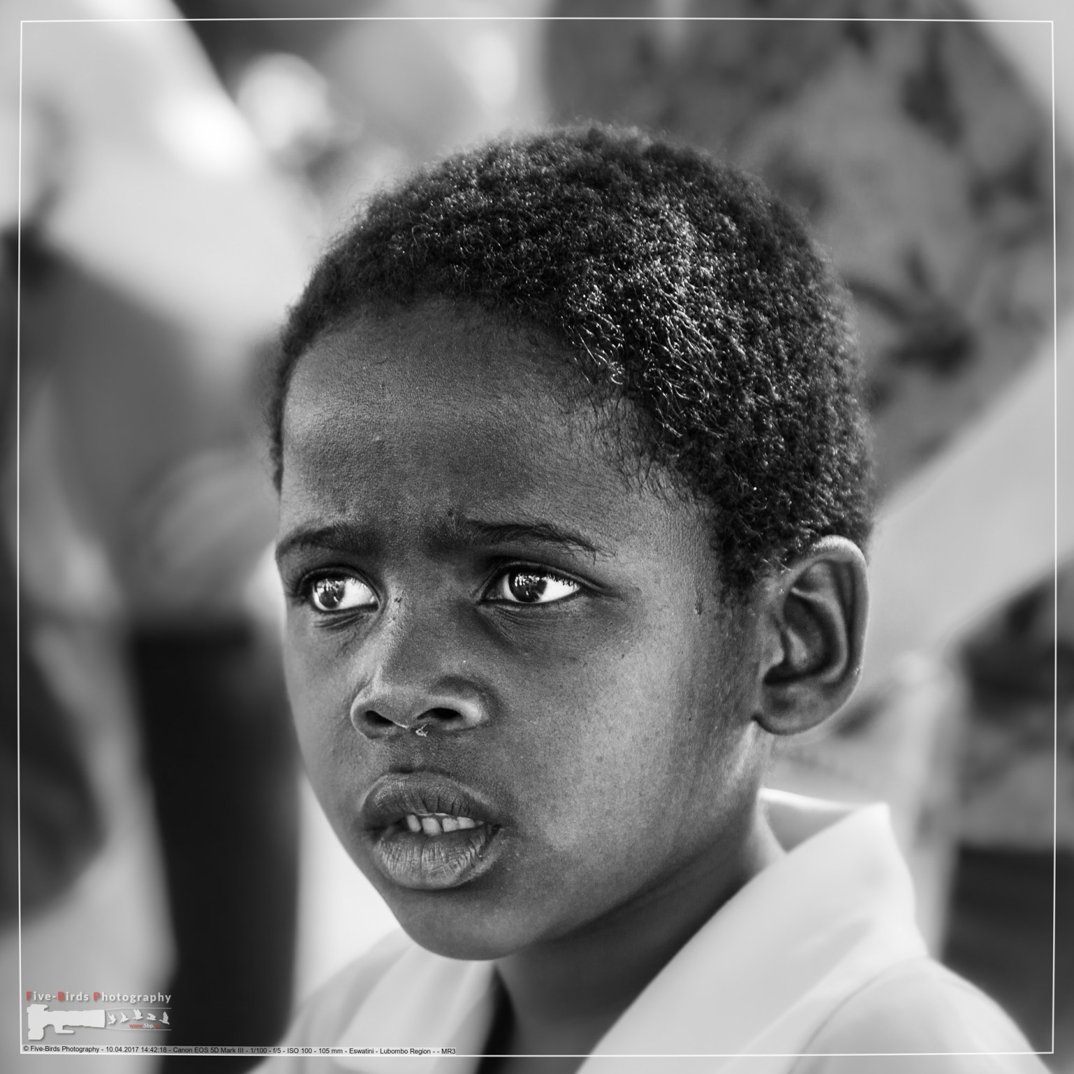 Schulkind in Swaziland (heute Eswatini)