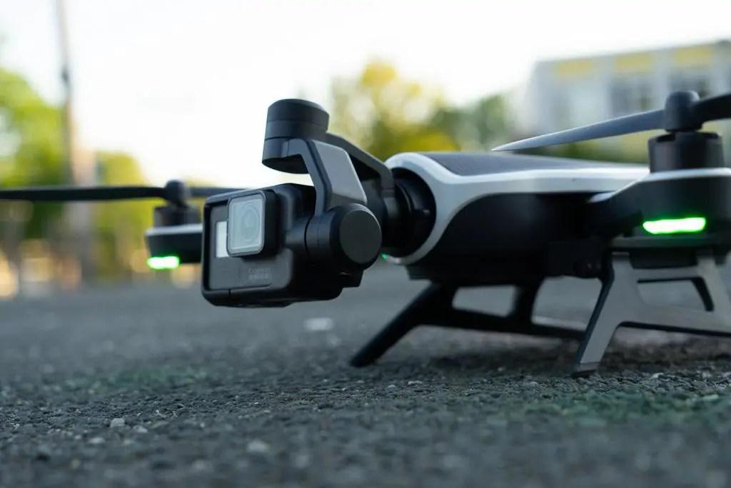 Die Drohne vor dem Start (Photo / Copyright: Wolfgang Menapace)