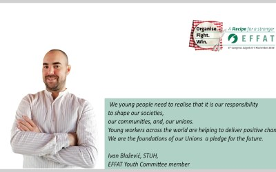 Young people need to be at the heart of trade unions' positive change | An Opinion from Ivan Blažević, EFFAT Youth Committee member