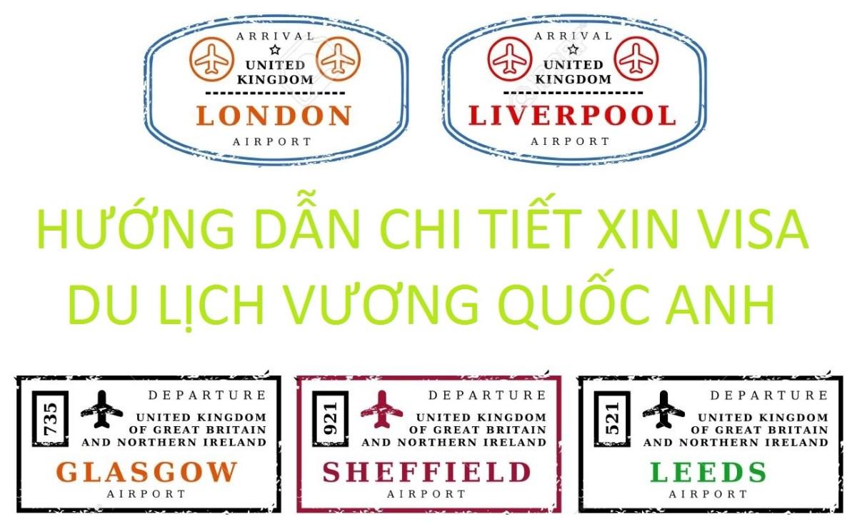 Hướng dẫn xin visa du lịch Anh
