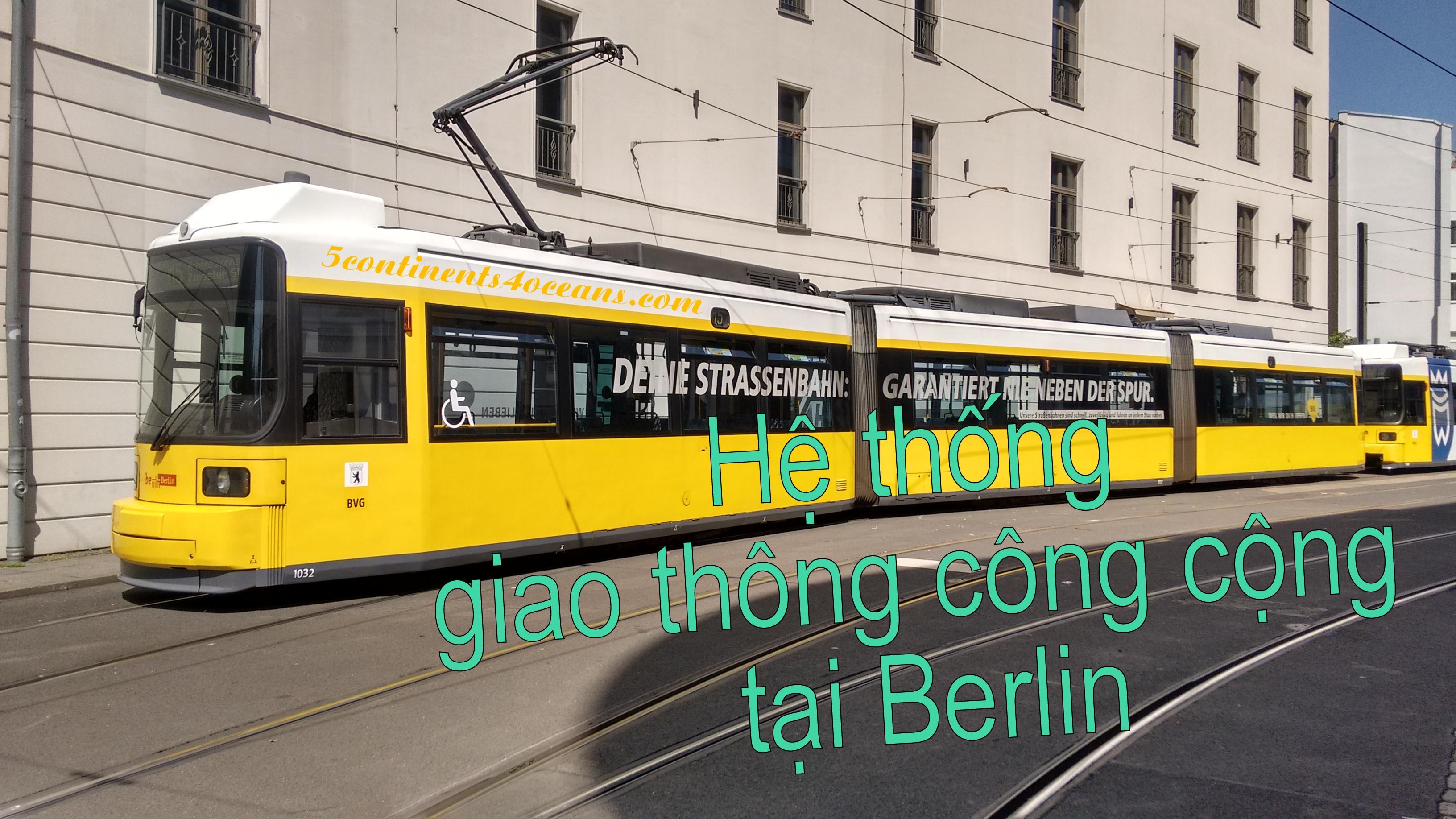 Hệ thống giao thông công cộng tại Berlin