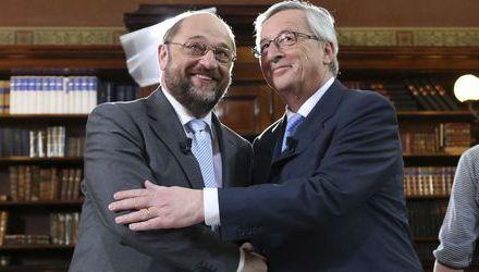 Юнкер и Шулц без различия в първия си предизборен евродебат