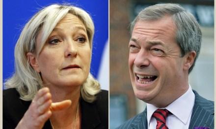 Евроскептиците се разделиха между Марин льо Пен и Найджъл Фараж
