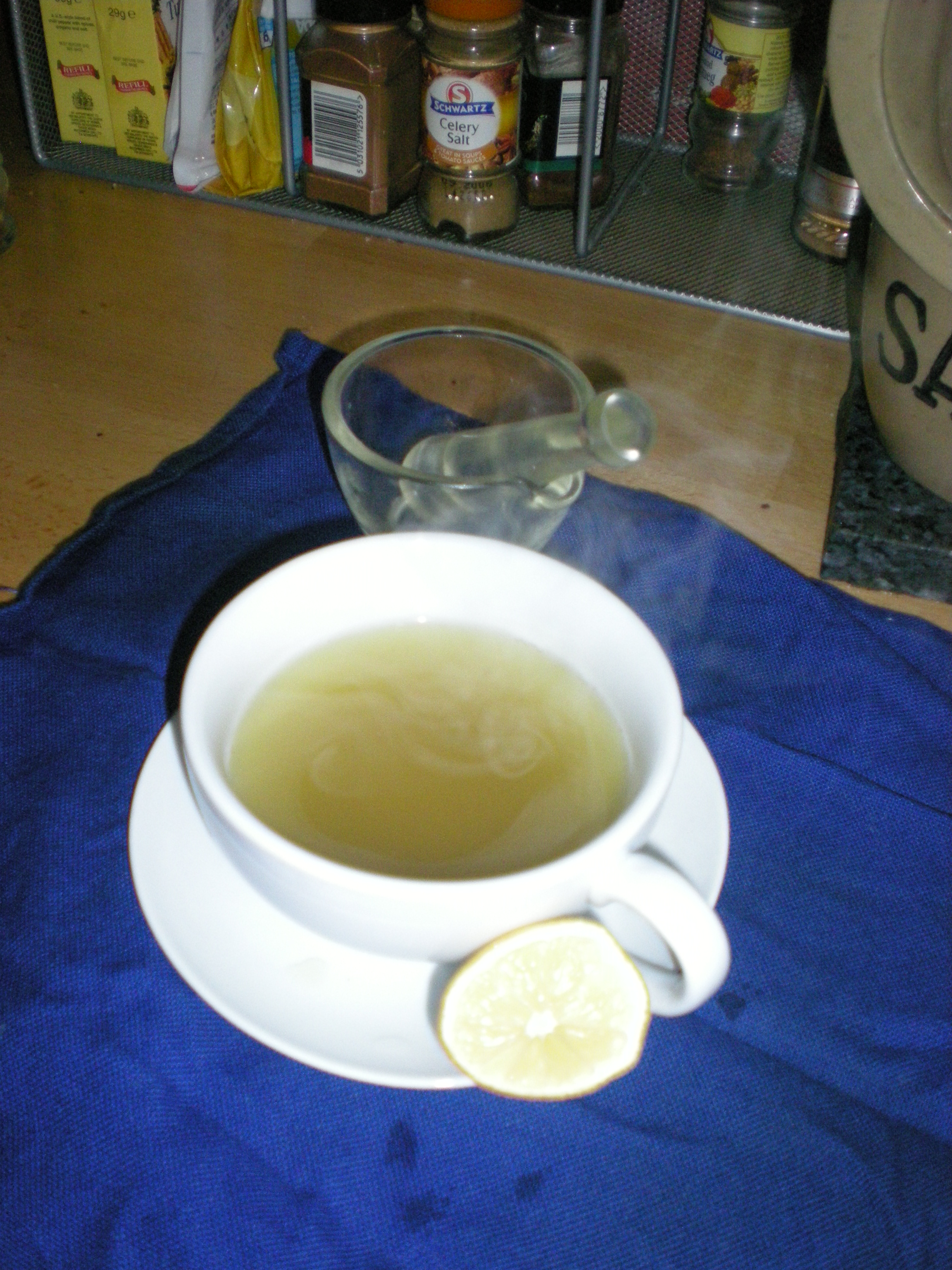 lemongrass tea - a break for the liver