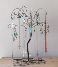 Wire Jewelry Tree Stand , Earring, Rings,Bracelets ...