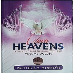 Open Heaven 25 May 2019 - A Serving Leader