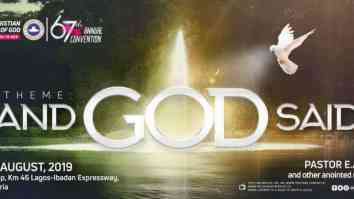 RCCG 67th Annual Convention 2019 Live Broadcast – Day 6