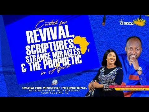 Omega Fire Ministries Live Service 20 October 2019