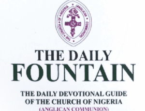 Anglican Daily Fountain Devotional 29th July 2021 Tuesday Message