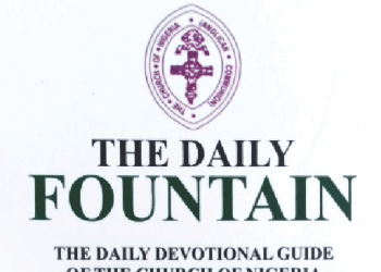 Daily Fountain Devotional 29 May 2020