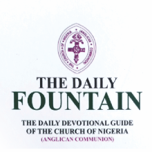Anglican Daily Fountain Devotional 31st October 2020 – Put Your Trust In God's Steadfast Love