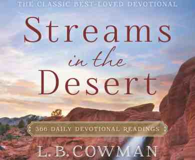 Streams in the Desert Devotional 21 July 2020 – Degrees of Faith