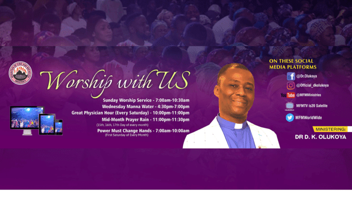 MFM 10th January 2021 Sunday Service with Dr D.K Olukoya, MFM 10th January 2021 Sunday Service with Dr D.K Olukoya, Premium News24