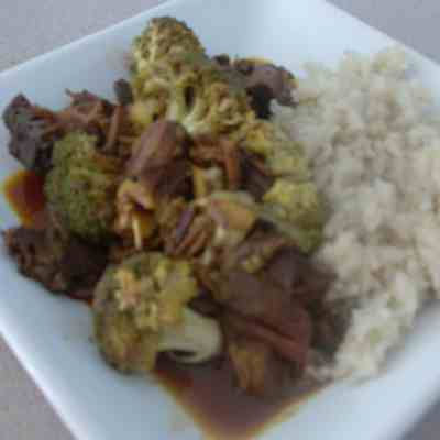 Slow cooked Asian Beef & Broccoli
