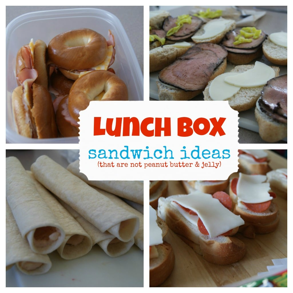 Lots of good lunch box ideas. | 5dinners1hour.com