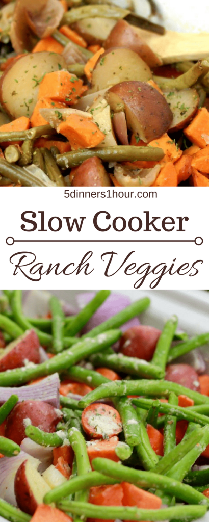 slow ranch veggies - so easy - so good | 5dinners1hour.com