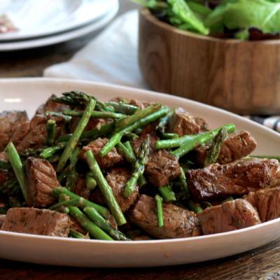 One Pan Broiled Spicy Steak