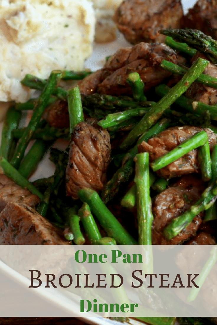 One Pan Spicy Steak Bites Dinner In Under 15 Minutes Fridge To Table Yum