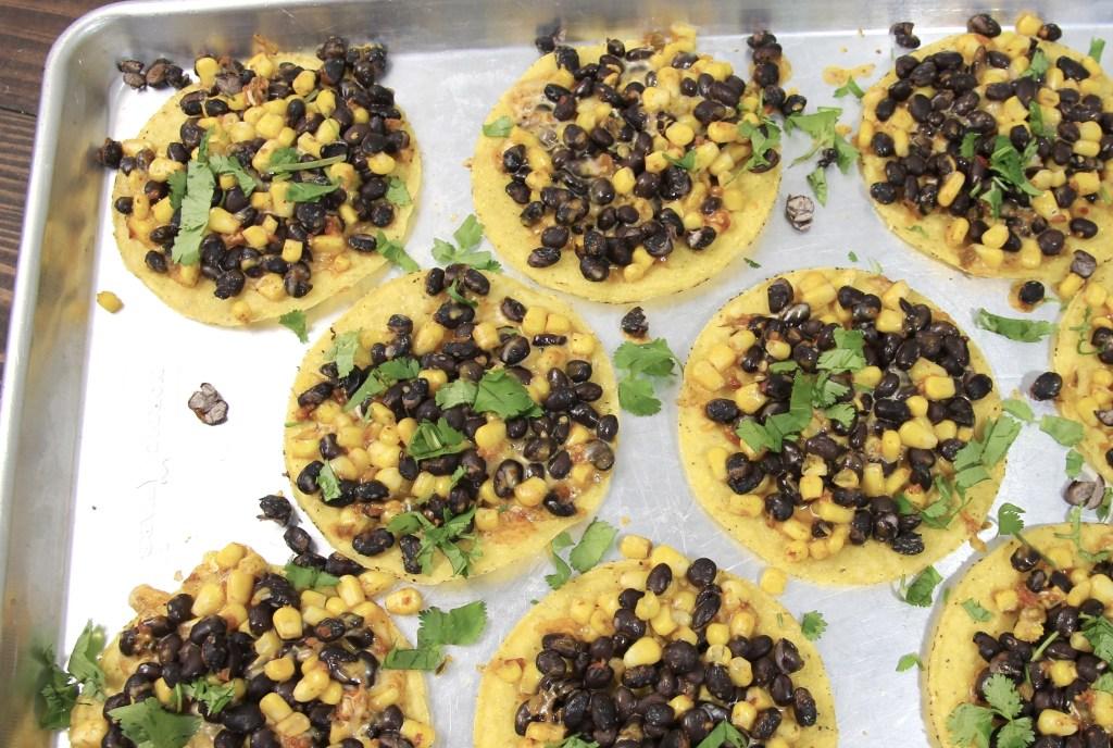 Quick and Easy Black Bean and Corn Tostada Recipe | 5dinners1hour.com