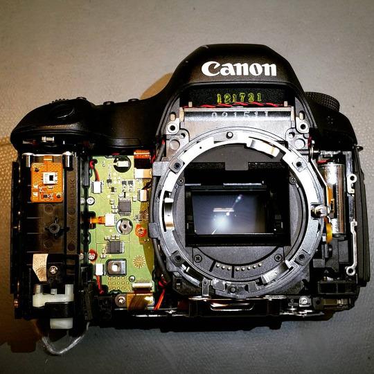 camera repair and cleaning