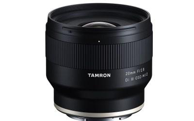 Tamron Announces the Launch Date of Close-Focusing  20mm F/2.8 Di III OSD M1:2 (Model F050)