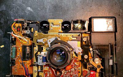 Nikon L35AF On The Bench