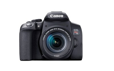 Canon announces Rebel T8i with 4K video