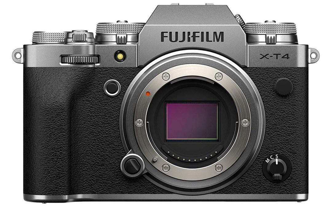 Fujifilm introduces X-T4