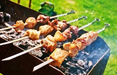 Shish kebab, kebab-shashlik-restaurant-5Elements-Rijnsaterwoude