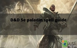 D and D 5e paladin spell guide