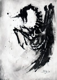 ink art  Drawings by 5erg