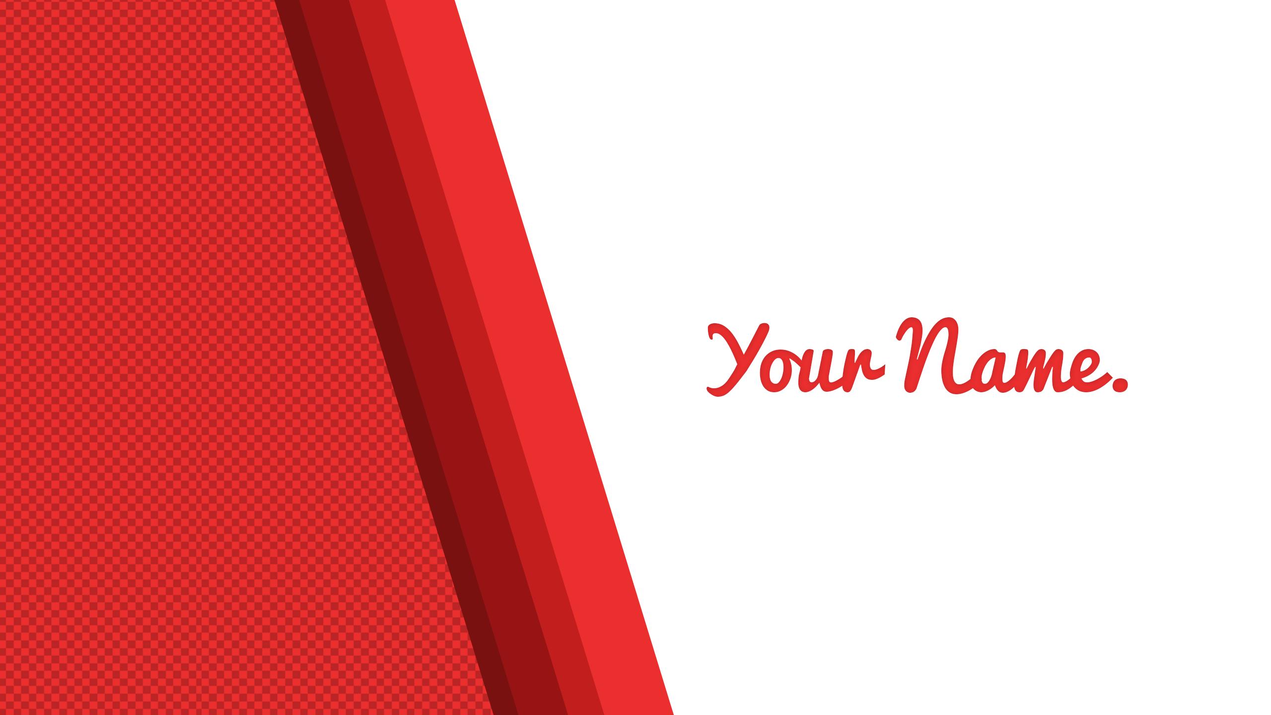 Red Gradient Banner