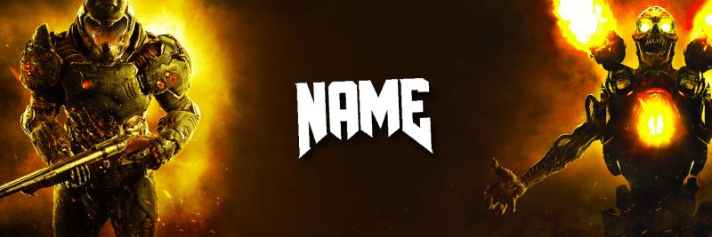 Doom Banner Twitter Cover