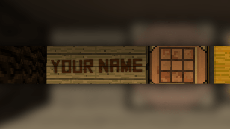 Crafting Bench Banner
