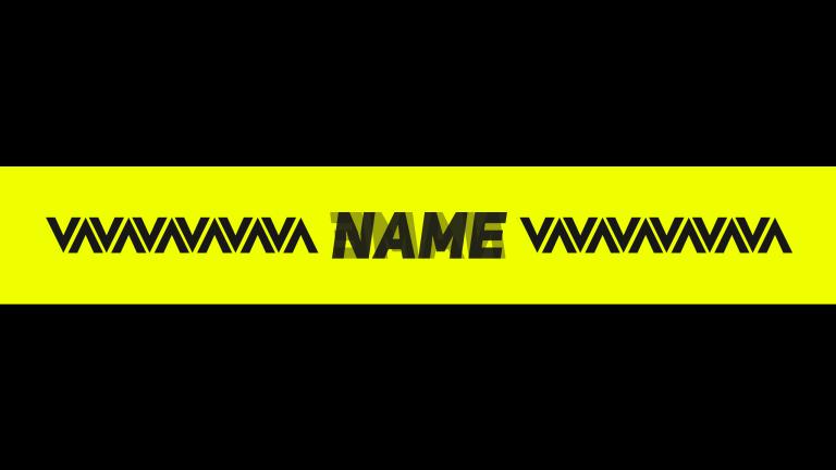 V Banner