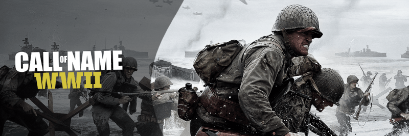 COD WWII Twitter Cover