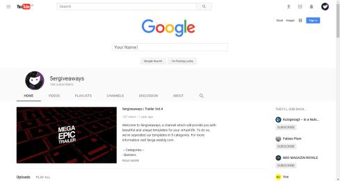 Aniversary YouTube Example