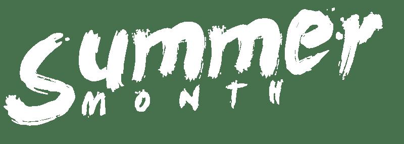 Summer Month Logo